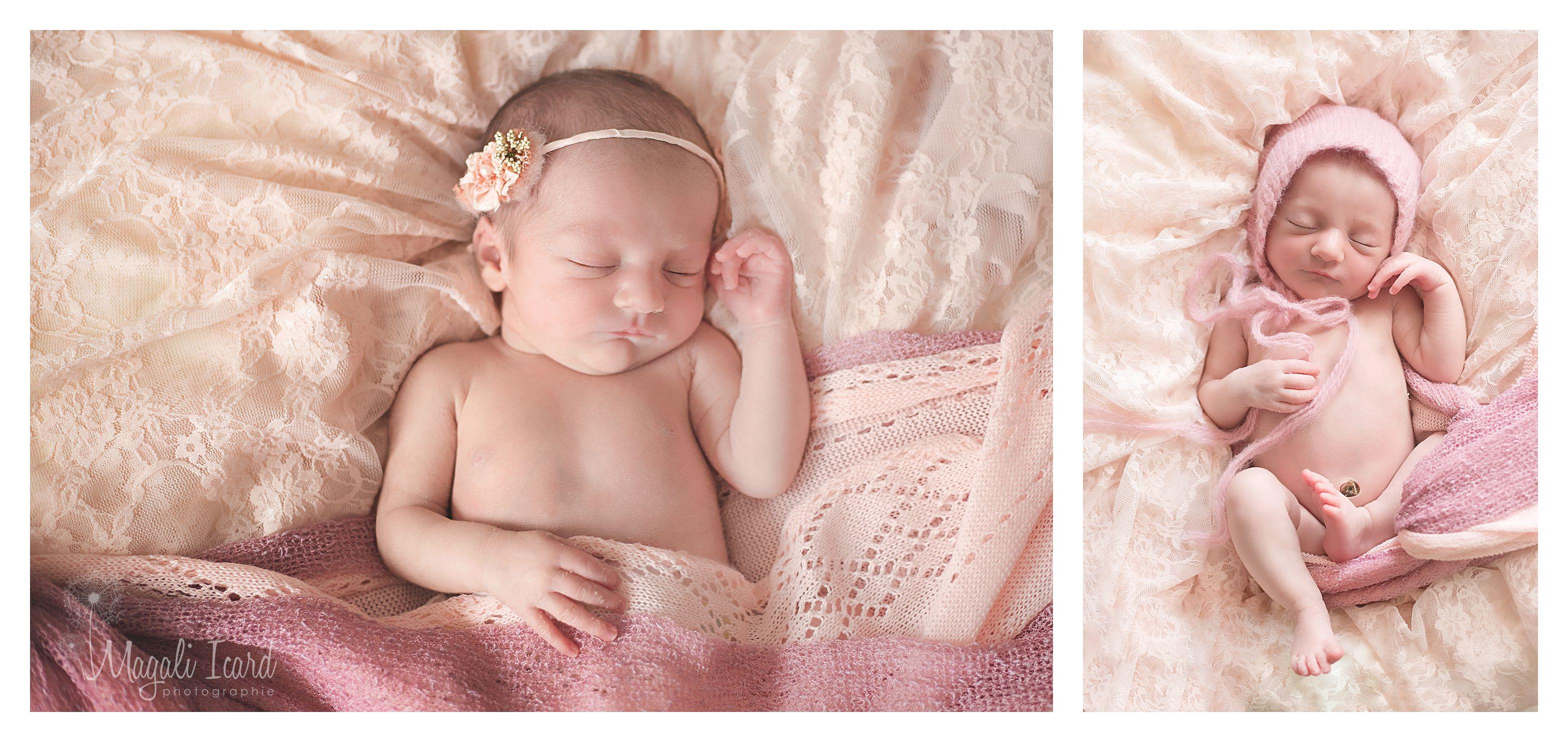 séance photo bébé fille ardèche