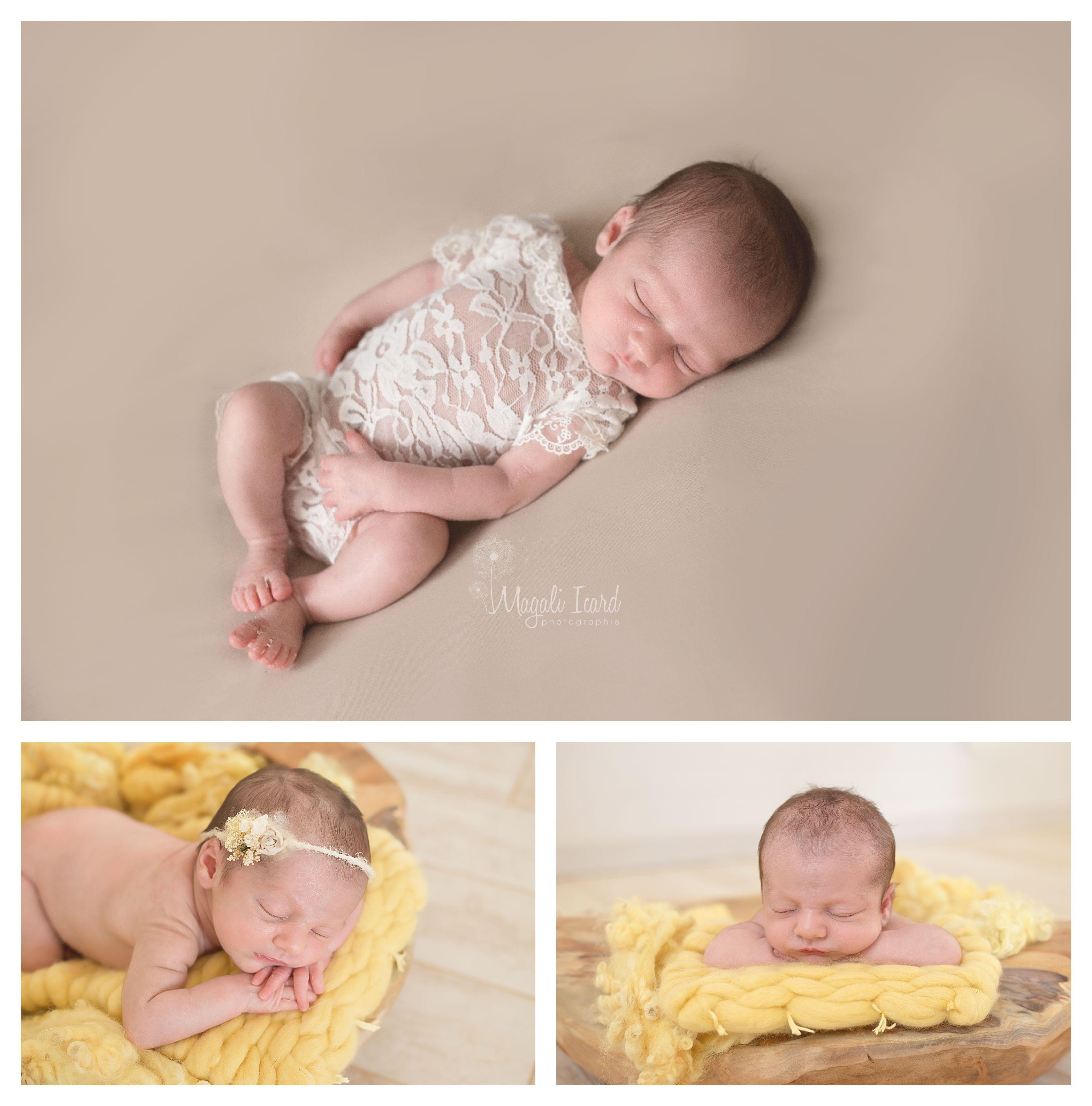 séance photo bébé fille drome